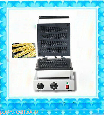 Non-Stick Cooking Surface Electric Lolly Waffle Maker Machine Fish Waffle Maker