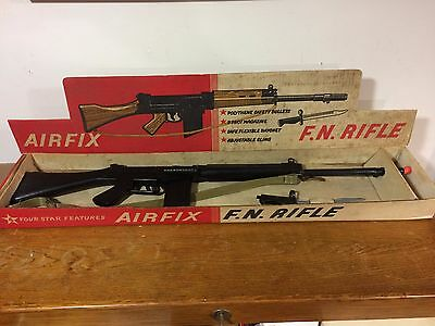 Vintage Very Rare  Airfix F.n. Fn Rifle Toy New In Original Box 60´s
