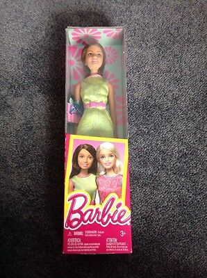 Barbie Doll With Ring Brand New Green