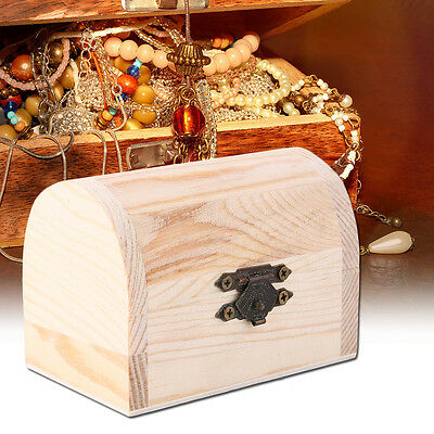 Handiwork Wooden Ingots Jewelry Box Base Art Decor DIY Wood Crafts Collect SM