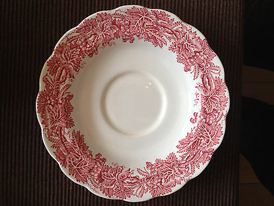 Collectable Vintage 1930's Booths Vine & Wheat Pattern Saucers
