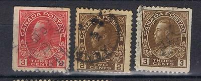 Canada 1922 selection SG 240 and others Used