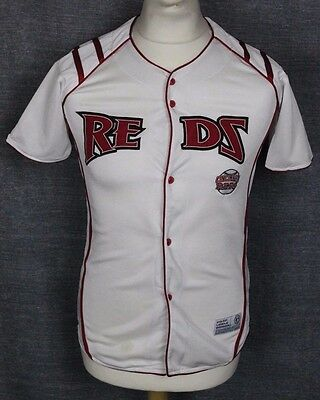 Vintage Cincinnati Reds Baseball Jersey Shirt True Fan Boys Large