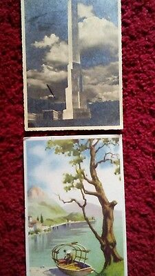 Old Postcards x 13 Italy 1930s & 1940s