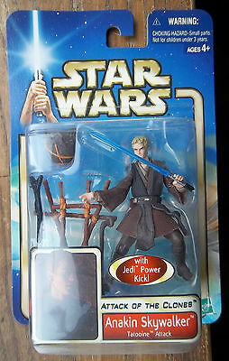 STAR WARS ATTACK OF THE CLONES ANAKIN SKYWALKER secret ceremony & super poseable