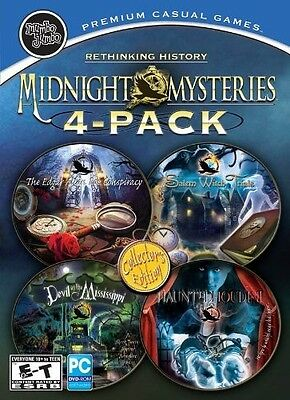 Midnight Mysteries 4-Pack PC NEW & SEALED SF-0098/SF-0038