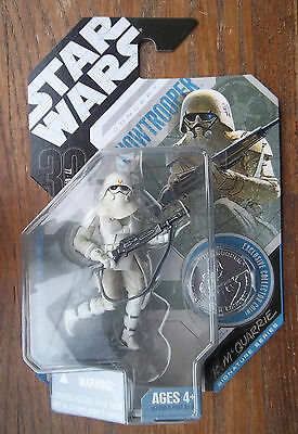STAR WARS 30th ANNIVERSARY SNOW TROOPER   R McQUARRIE SIGNATURE SERIES
