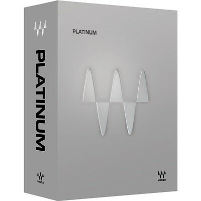 Waves Platinum Bundle NEW Electronic Delivery AU VST AAX RTAS Plug-in