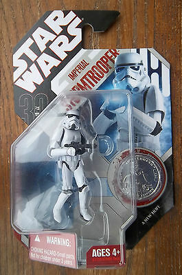 STAR WARS 30th ANNIVERSARY IMPERIAL STORMTROOPER  A NEW HOPE