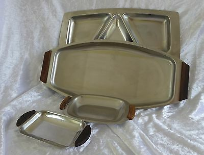 Vintage Denmark Stainless Steel - SCANLI and others - Various Dishes        (EC)