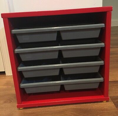 Lego Storage & Sorting Cube with Four Removable Trays RARE VIntage Retired