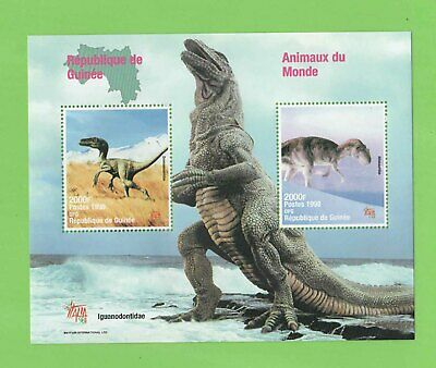 Republic of Guinee 1998 Dinosaurs miniature sheet MNH