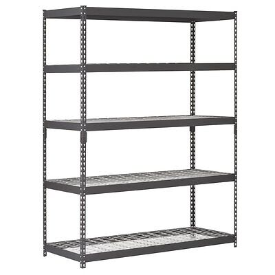 Heavy Duty Storage Shelving Steel Sturdy Racks Commercial Industrial Warehouse
