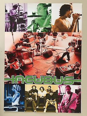 Incubus Authentic 2002 Poster