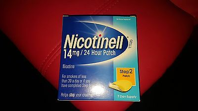 NiQuitin Clear 21mg Patch nicotine,Step 2.7 clear Patches.1 week kit.