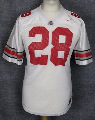 #28 Ohio State Buckeyes American Football Jersey Youths Xl Nike