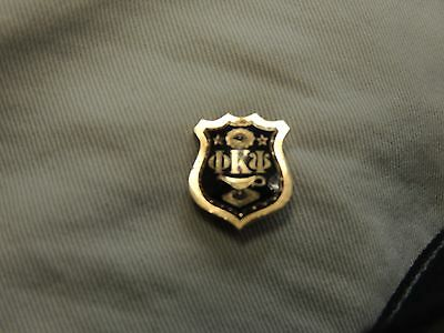10K Gold Phi Kappa Psi Fraternity Pin