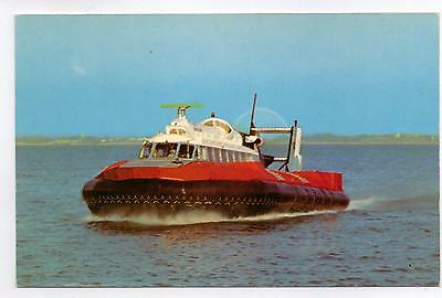 GB Postcard  SR-N6  Hovercraft  from Ryde-Southsea,  Nigh KIW 573.  Not posted.