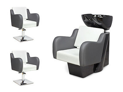 SALON HAIRDRESSING STYLING FURNITURE SETS Backwash  Styling Chairs NUVOLA