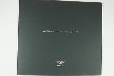 Bentley Official Arnage Diamond Series Brochure - 1 year only 2006 - New