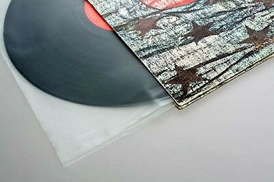 """50 Premium 12"""" Anti-Static Inner Vinyl LP Record Sleeves Frosted"""
