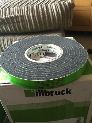 1 Roll - Illbruck TP600 Compriband Weatherseal Color:Anthracite 20/7 12mm - 4.3M