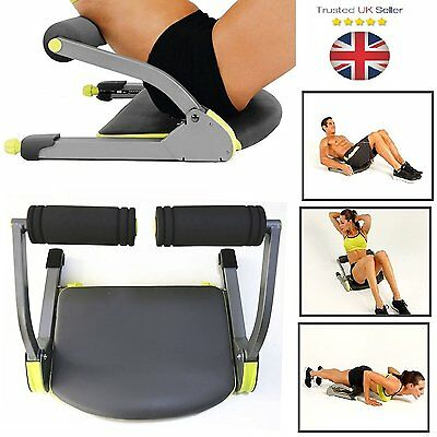 Total Body Exercise Machine Ab Workout Fitness Train Home Gym