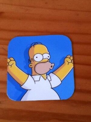 Homer The Simpsons Fab Fridge Magnet Coaster