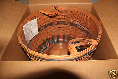 1991 Longaberger J.W. Collection Large Corn Basket in Brand New Condition w/box