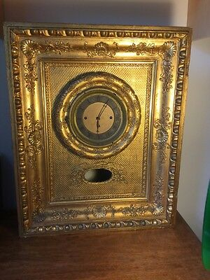 Viennese Musical Wall Clock for Restoration Anton Olbrich Wien Musical Movement