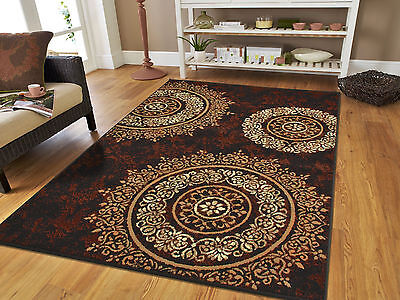 new area rugs 8x10 brown black circles area rug 5x7 contemporary 5x8 2x3 Rugs