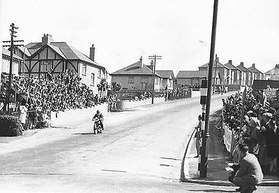 Bray Hill Isle of Man TT Motorcycle Race 1930's 7x5 Inch Reprint Photograph