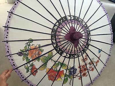 Beautiful Purple Parasol New With Tags