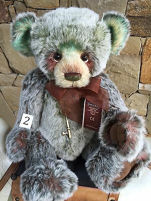 Charlie Bears Loulabelle Plumo Jointed Plush 43cm Hard to find Teddy Bear