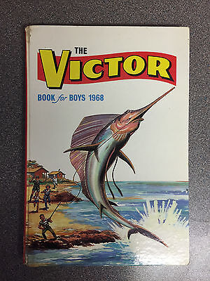 """""""The Victor Book for Boys 1968"""" Comic Annual from 48 years ago"""