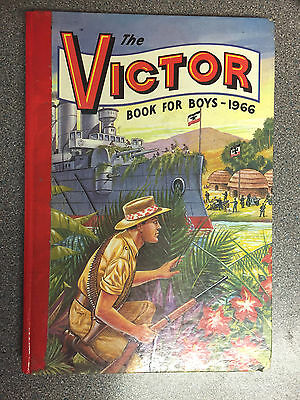 """The Victor Book for Boys 1966"" Comic Annual from 50 years ago"