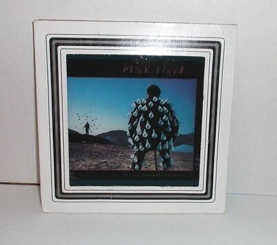 """VTG 1980's Pink Floyd Delicate Sound Of Thunder 6"""" X 6"""" Carnival Mirror"""
