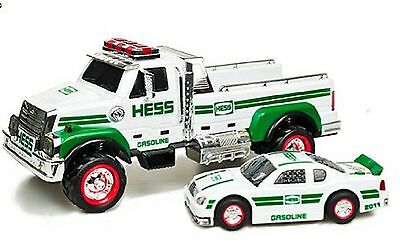 2011 Hess Toy Truck and Race Car NEW MINT FROM FACTORY CASE-RARE