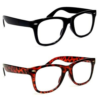 Men Retro Reading Glasses Classic River Square Frame Readers