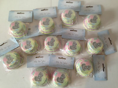 Pack of 600 Medium Cupcake Cases - Tatty Teddy Bear Party Clearance January Sale
