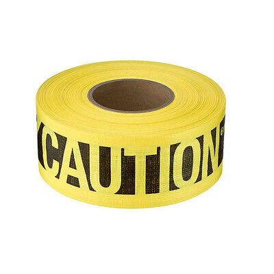 76-0600 Empire 3 in. x 500 ft. Reinforced Caution Tape