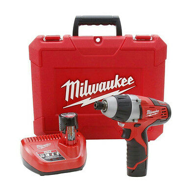 M12 12-Volt Lithium-Ion Cordless 1/4 in. Hex No-Hub Driver