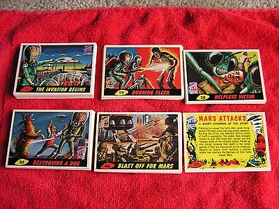 MARS ATTACKS ARCHIVES 1994 Complete1st FIRST DAY Card Set 55 Plus Bonus 11 Cards