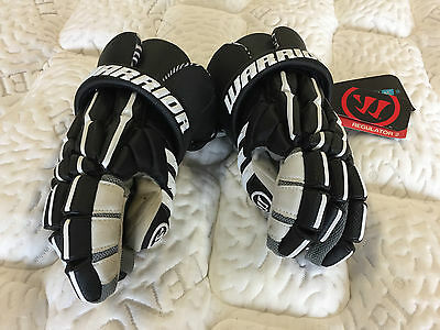 NEW! Warrior Regulator 2 Lacrosse Gloves Black 13""