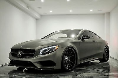 2015 Mercedes-Benz S-Class S550 2015 S550 WIDE BODY Coupe Turbo 4.7L V8 32V Automatic 4MATIC