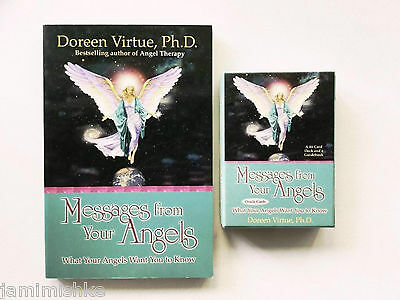 231 Page Book Plus Oracle Card Box Set Messages From Your Angels Doreen Virtue