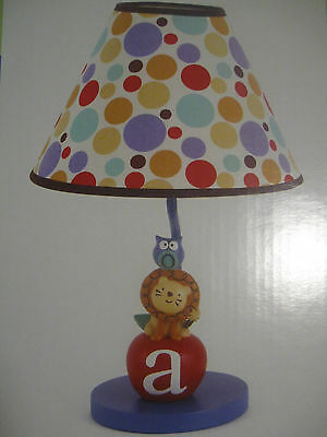 "COCALO ""ALPHABET BABIES""  LAMP BASE and SHADE"
