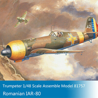 HobbyBoss 81757 1/48 Scale Romanian IAR-80 Fighter Plastic Model Aircraft Kits