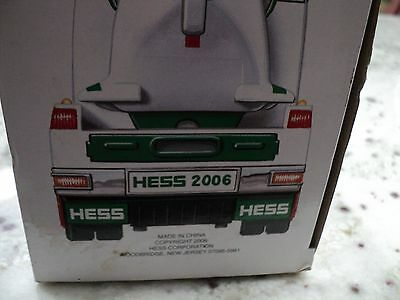 2006 Hess Truck - Toy Truck And Helicopter nib