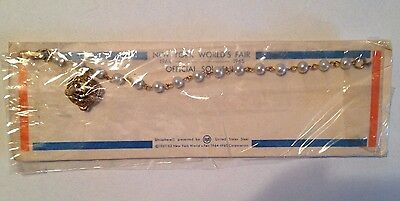 1964-65 New York World's Fair Official Souvenir Bracelet with Unisphere Charm